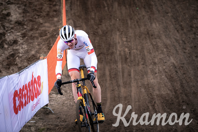 World Cup Leader Toon Aerts (BEL/Telenet Baloise Lions) <br /> <br /> Men Elite Race<br /> UCI Cyclocross Worldcup – Hoogerheide (Netherlands)<br /> <br /> ©kramon
