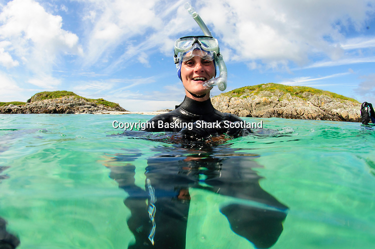 Clear water snorkelling