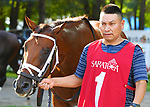 Closing day scenes from around the track on Hopeful Stakes day on September 03, 2018 at Saratoga Race Course in Saratoga Springs, New York. (Bob Mayberger/Eclipse Sportswire)