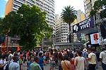 Manifestaçao de mulheres Julgamento Poetico Marielle Vive, Largo Paissandu, Sao Paulo. 2018. Foto © Juca Martins.