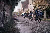 dancing on the cobbles<br /> <br /> 50th GP Samyn 2018<br /> Quaregnon &gt; Dour: 200km (BELGIUM)