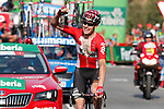 Sander Armee (BEL) Lotto-Soudal wins solo Stage 18 of the 2017 La Vuelta, running 169km from Suances to Santo Toribio de Li&eacute;bana, Spain. 7th September 2017.<br /> Picture: Unipublic/&copy;photogomezsport | Cyclefile<br /> <br /> <br /> All photos usage must carry mandatory copyright credit (&copy; Cyclefile | Unipublic/&copy;photogomezsport)