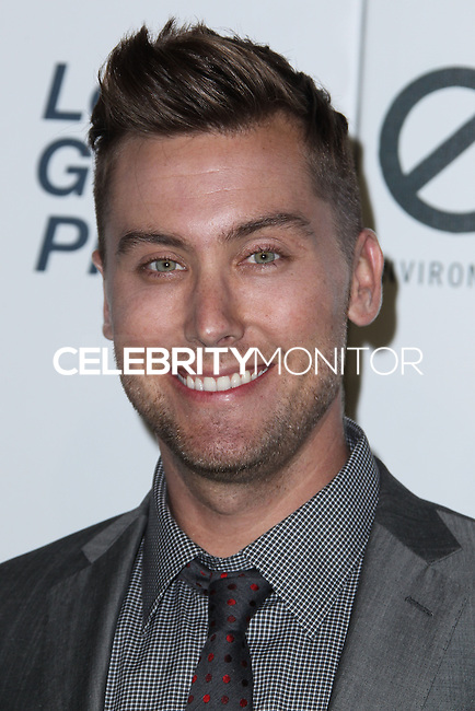 BURBANK, CA - OCTOBER 19: Lance Bass at the 23rd Annual Environmental Media Awards held at Warner Bros. Studios on October 19, 2013 in Burbank, California. (Photo by Xavier Collin/Celebrity Monitor)