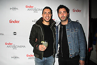 Sean Rad, Justin Mateen<br /> TINDER ARTS & CINEMA CENTRE hosts the cast party for TIG & PEOPLE PLACES AND THINGS, Vinto, Park City, UT 01-25-15<br /> David Edwards/DailyCeleb.com 818-915-4440