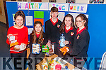 HEALTHY CHOICES: Students from Mean Scoil Leith Triuigh, Castlegregory learned all about healthy choices when it came to food during their healthy eating week last week. Pictured were: Sallyann Leahy (teacher), Muireann Casey, Jimmy O'Grady, Claire Dennehy and Grace O'Sullivan.