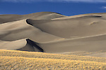 Symmetry in the Star Dune area of Great Sand Dunes National Park, Colorado.