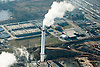 Aerial view of  Sunoco Marcus Hook Refinery, Marcus hook PA,