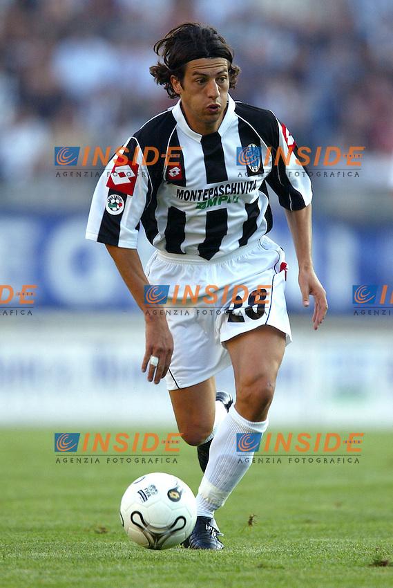 Siena 20/9/2003 Siena Empoli 4-0 <br /> Gianni Guigou (Siena) <br /> Foto Insidefoto