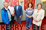Attending the Tralee Rotary Club launch of their fundraiser in the Imperial Hotel for the 321 Down Syndrome Charity Shop.<br /> Front l to r: Rachel Fitzgerald (Down Syndrome Kerry) and Grace O'Donnell (President Tralee Rotary Club).<br /> Back l to r: Pierce Wall, John Moriarty and Daniel Giles