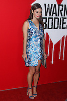 "HOLLYWOOD, CA - JANUARY 29: Kathryn McCormick arrives at the ""Warm Bodies"" Los Angeles Premiere held at ArcLight Cinemas Cinerama Dome on January 29, 2013 in Hollywood, California. Photo Credit: Xavier Collin / Retna Ltd. / MediaPunch Inc /NortePhoto"