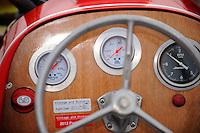 """Detail: Dashboard, Y-4 """"Playtime"""" (48 c.i. hydroplane)"""