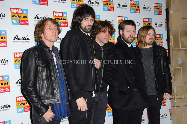 WWW.ACEPIXS.COM<br /> <br /> February 18 2015, London<br /> <br /> Kasabian attends the NME Awards 2015 at the Brixton Academy on February 18 2015 in London. <br /> <br /> By Line: Famous/ACE Pictures<br /> <br /> <br /> ACE Pictures, Inc.<br /> tel: 646 769 0430<br /> Email: info@acepixs.com<br /> www.acepixs.com