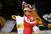 5th October 2017, Suzuka Circuit, Suzuka, Japan; Japanese Formula One Grand Prix, Thursday Setup and Press Conference; Fans in the pit lane and leave items for team and drivers