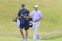 Bill Haas (USA) on the 3rd green during Friday's Round 2 of the 117th U.S. Open Championship 2017 held at Erin Hills, Erin, Wisconsin, USA. 16th June 2017.<br /> Picture: Eoin Clarke | Golffile<br /> <br /> <br /> All photos usage must carry mandatory copyright credit (&copy; Golffile | Eoin Clarke)
