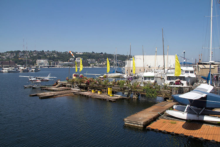 Seattle, Lake Union, Kurtzer Flying Service, float planes for hire,