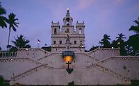 Kirche der unbefleckten Empfängnis in Panaji, Goa, Indien