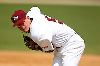 UMass Nick Sanford #5 during a game vs Indiana Hoosiers at Lake Myrtle Main Field in Auburndale, Florida;  March 16, 2011.  Indiana defeated UMass 11-10.  Photo By Mike Janes/Four Seam Images