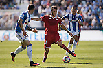 Franco Vazquez of Sevilla FC in action during their La Liga match between Deportivo Leganes and Sevilla FC at the Butarque Municipal Stadium on 15 October 2016 in Madrid, Spain. Photo by Diego Gonzalez Souto / Power Sport Images