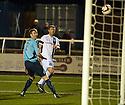 Ayr Utd's Kevin Kyle scores their goal.