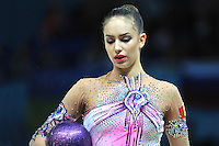 August 30, 2013 - Kiev, Ukraine - ALEXANDRA PISCUPESCU of Romania performs at 2013 World Championships.
