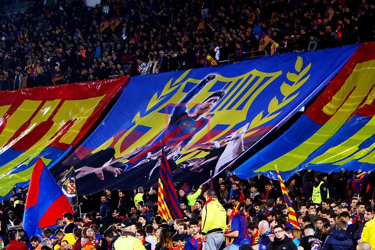 UEFA Champions League 2017/2018.<br /> Round of 16 2nd leg.<br /> FC Barcelona vs Chelsea FC: 3-0.