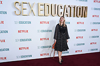 "Aimee Lou Wood<br /> arriving for the ""Sex Education"" season 2 launch at Genesis Cinema Mile End Road, London.<br /> <br /> ©Ash Knotek  D3547 08/01/2020"