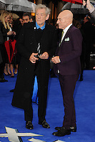 "Sir Patrick Strewart and Sir Ian McKellan arriving for the ""X-Men: Days of Future Past"" UK premiere at the Odeon Leicester Square, London. 12/05/2014 Picture by: Steve Vas / Featureflash"