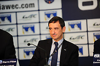 PIERRE FILLON (FRA) PRESIDENT OF THE AUTOMOBILE CLUB OF OUEST PRESS CONFERENCE FIA WEC CALENDAR 2015