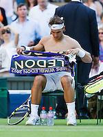 28-06-12, England, London, Tennis , Wimbledon, Rafael Nadal