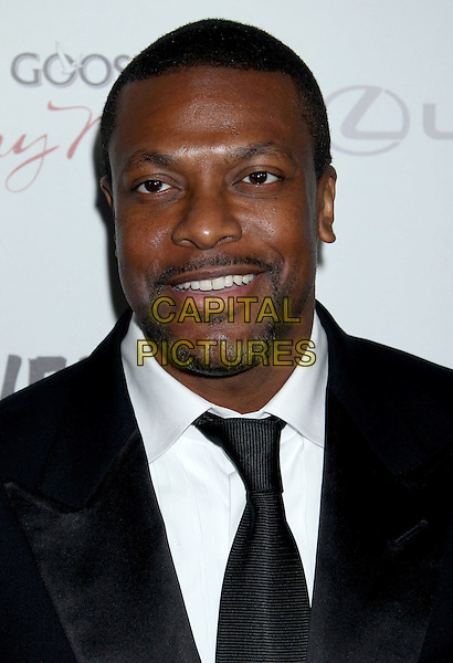"""Chris Tucker.""""Silver Linings Playbook"""" - Los Angeles Special Screening held at the Academy of Motion Picture Arts and Sciences Samuel Goldwyn Theater, Beverly Hills, California, USA..November 19th, 2012.headshot portrait black suit tie white shirt goatee facial hair .CAP/ADM/RE.©Russ Elliot/AdMedia/Capital Pictures."""