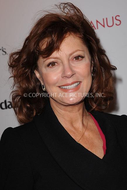 "WWW.ACEPIXS.COM . . . . . .January 17, 2012, New York City....Susan Sarandon attends Chopard & Dewar's New York Premiere of The Weinstein Company's ""Coriolanus"" at the  Paris Theatre on  January 17, 2012  in New York City ....Please byline: KRISTIN CALLAHAN - ACEPIXS.COM.. . . . . . ..Ace Pictures, Inc: ..tel: (212) 243 8787 or (646) 769 0430..e-mail: info@acepixs.com..web: http://www.acepixs.com ."