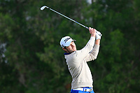 Kalle Samooja (FIN) on the 4th tee during Round 1 of the Omega Dubai Desert Classic, Emirates Golf Club, Dubai,  United Arab Emirates. 24/01/2019<br /> Picture: Golffile | Thos Caffrey<br /> <br /> <br /> All photo usage must carry mandatory copyright credit (&copy; Golffile | Thos Caffrey)