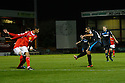 Filipe Morais of Stevenage scores his second and their third goal<br />  - Crewe Alexandra v Stevenage - Sky Bet League One - Alexandra Stadium, Gresty Road, Crewe - 22nd October 2013. <br /> © Kevin Coleman 2013