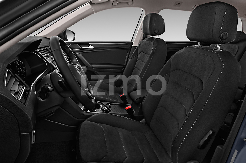 Front seat view of a 2018 Volkswagen Tiguan Allspace Highline 5 Door SUV front seat car photos