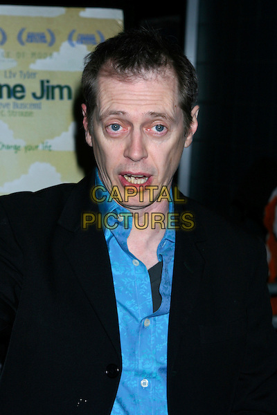 "STEVE BUSCEMI.""Lonesome Jim"" New York Screening at Clearview Chelsea West, New York City, NY, USA..March 21st, 2006.Ref: IW.headshot portrait mouth open.www.capitalpictures.com.sales@capitalpictures.com.©Capital Pictures"