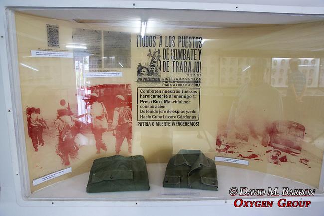 Exhibit, Invasion Museum, Giron Museum - Bay Of Pigs (1961)