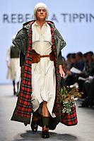 7 September 2017, Melbourne - Model parades design by RMIT student Rebecca Tipping during the Melbourne Fashion Week in Melbourne, Australia. (Photo Sydney Low / asteriskimages.com)