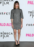 "LOS ANGELES, CA, USA - MAY 05: Gia Coppola at the Los Angeles Premiere Of Tribeca Film's ""Palo Alto"" held at the Directors Guild of America on May 5, 2014 in Los Angeles, California, United States. (Photo by Celebrity Monitor)"