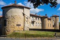 France, Aquitaine, Pyrénées-Atlantiques, Pays Basque, Bayonne: Le Château Vieux, // France, Pyrenees Atlantiques, Basque Country, Bayonne: The Le Château Vieux,