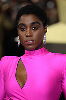 "Lashana Lynch<br /> arriving for the ""Captain Marvel"" European premiere at the Curzon Mayfair, London<br /> <br /> ©Ash Knotek  D3484  27/02/2019"