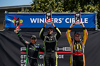 Race 2, Platinum Masters Podium, #88 Mark Motors Racing, Porsche 991 / 2019, GT3CP: Marco Cirone (M), #84 Mark Motors Racing, Porsche 991 / 2018, GT3CP: Perry Bortolotti (M), #08 Wingho Racing Team, Porsche 991 / 2019, GT3CP: Martin Harvey (M)