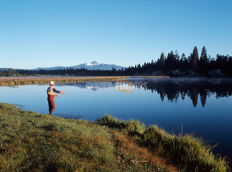 Fly Fishing on Lake Phalarope with Three-Fingered Jack
