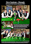 The New Institute Team from Nenagh, County Tipperary who won the Gleneagle All-Ireland Team Snooker Champiopnship in Killarney at the weekend pictured receiving their trophy from Patrick O'Donoghue, The Gleneagle Hotel. Included are from left, The New Institute Team from Nenagh, County Tipperary who won the Gleneagle All-Ireland Team Snooker Champiopnship in Killarney at the weekend. Included are from left, David Horan, Brendan O'Donoghue, Mark Walsh, captain, Andrew McCloskey and Tony Seymore.<br /> Photo Don MacMonagle
