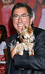 "LOS ANGELES, CA. - October 16: Director Kenny Ortega and dog Manly arrive at the Los Angeles Premiere of ""High School Musical 3"" at the Galen Center at the University Of Southern California on October 16, 2008 in Los Angeles, California."