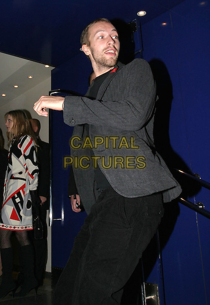 CHRIS MARTIN - COLDPLAY.Sylvia UK premiere, part of the Times BFI London Film festival closing night gala.funny, posing.www.capitalpictures.com.sales@capitalpictures.com.© Capital Pictures.
