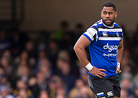 Bath Rugby's Joe Cokanasiga<br /> <br /> Photographer Bob Bradford/CameraSport<br /> <br /> Premiership Rugby Cup - Bath Rugby v Wasps - Sunday 5th May 2019 - The Recreation Ground - Bath<br /> <br /> World Copyright © 2018 CameraSport. All rights reserved. 43 Linden Ave. Countesthorpe. Leicester. England. LE8 5PG - Tel: +44 (0) 116 277 4147 - admin@camerasport.com - www.camerasport.com