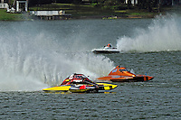 "Brandon Kennedy, S-25 ""Shameless"" , Gene DeFalco, S-80 ""On The Edge"" and Christina Wilson, S-20 ""Desperate Housewife""  (2.5 Litre Stock hydroplane(s)"