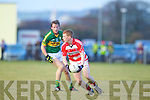 Donnchadh Walsh  Kerry in action against Pa Kilkenny Cork IT in the semi final of the McGrath Cup at John Mitchells Grounds on Sunday.