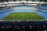 A general view of The Etihad, home of Manchester City<br /> <br /> Photographer Rich Linley/CameraSport<br /> <br /> UEFA Champions League - Quarter-finals 2nd Leg - Manchester City v Tottenham Hotspur - Wednesday April 17th 2019 - The Etihad - Manchester<br />  <br /> World Copyright © 2018 CameraSport. All rights reserved. 43 Linden Ave. Countesthorpe. Leicester. England. LE8 5PG - Tel: +44 (0) 116 277 4147 - admin@camerasport.com - www.camerasport.com