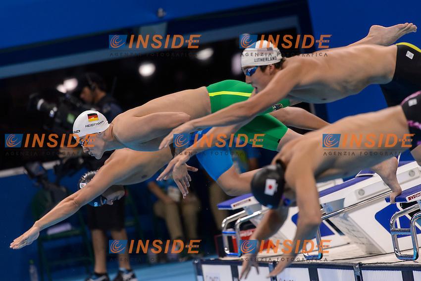 HEIDTMANN Jacob GER <br /> 400m Individdual Medley <br /> Rio de Janeiro 06-08-2016 Olympic Aquatics Stadium <br /> Swimming Nuoto <br /> Foto Andrea Staccioli/Deepbluemedia/Insidefoto